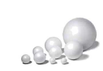 Bolas de Corcho blanco, porexpan