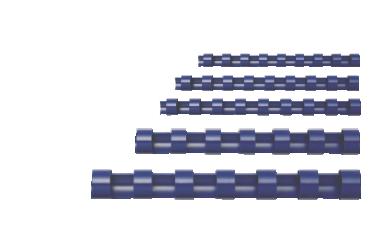 Canutillos de plástico para encuadernar