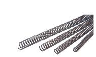 Espirales metálicas para encuadernar