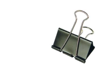 Pinzas metálicas reversibles