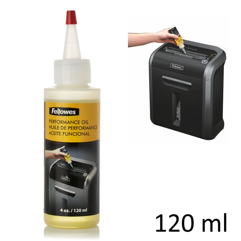 Comprar Aceite para Destructoras Fellowes 120ml - cuchillas y motor