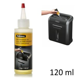 Aceite para Destructoras Fellowes 120ml - cuchillas y motor