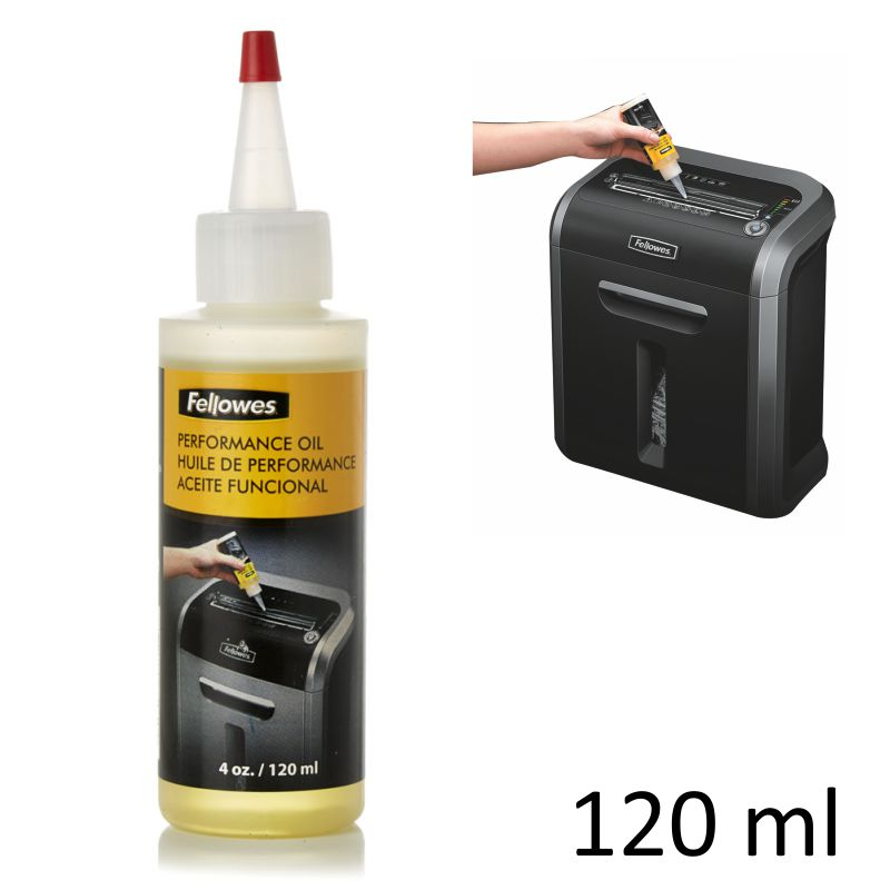 aceite lubricante cuchillas destructoras fellowes