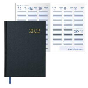 Agenda 2018 semana vista,14x20,