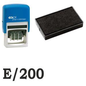 Almohadilla tinta E/200 Para