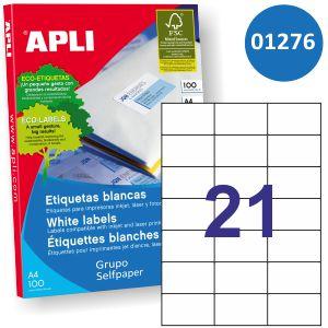 Apli 01276 etiquetas adhesivas