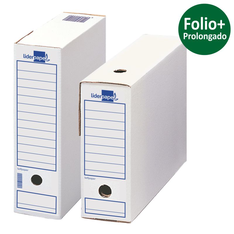 Comprar Archivador Definitivo Folio Prolongado Liderpapel