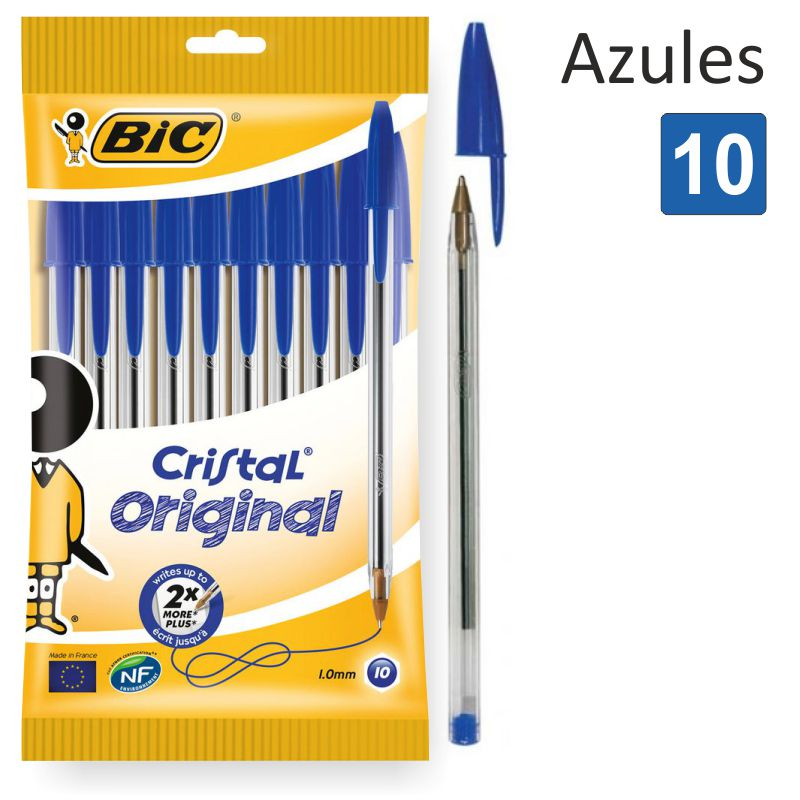 Bic Cristal Blister 10