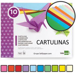 Block Cartulinas 10 hojas