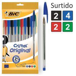Boligrafo Bic Cristal paquete