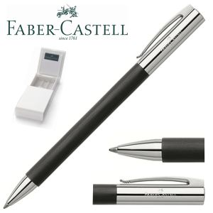 Bolígrafo Faber-Castell Ambition Negro,