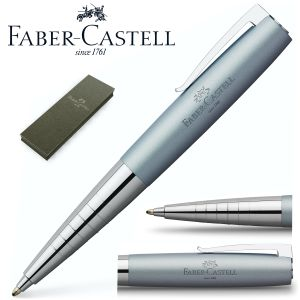 Boligrafo regalo Faber-castell Loom Metalic Light Blue plata