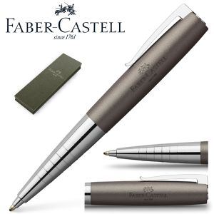 Bolígrafo Faber-castell Loom Metalic Gris metal