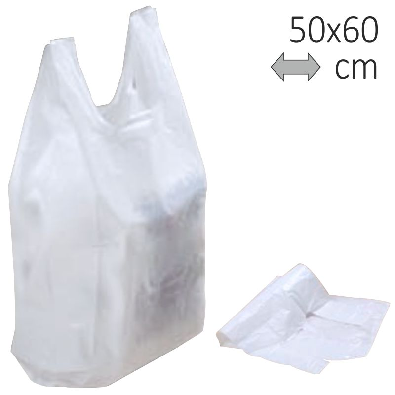 Bolsa Grandes 2 PlasticoCamiseta Kg Asas 50x60 CmsCon zMGVLqUpS