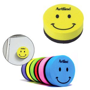 Borrador Magnetico Smiley Emoticono colores surtidos