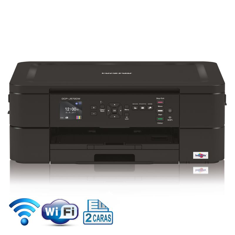 brother dcp j572dw impresora con escaner wifi dobl
