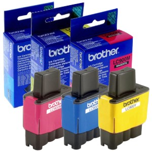Comprar Cartucho Original tinta Brother LC-900 color LC900 C M Y