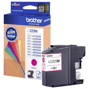 Brother LC223M Magenta Cartucho original 550 pags.