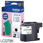 Brother LC227XLBK Cartucho XL 1200 Pags 25 ml