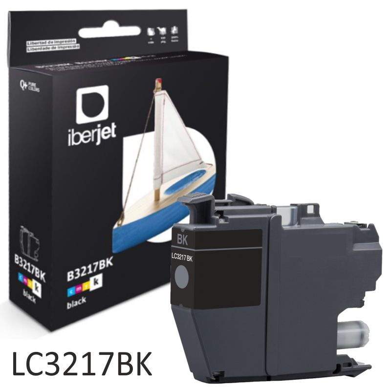 Comprar Brother LC3217BK Negro Cartucho compatible Alta capacidad