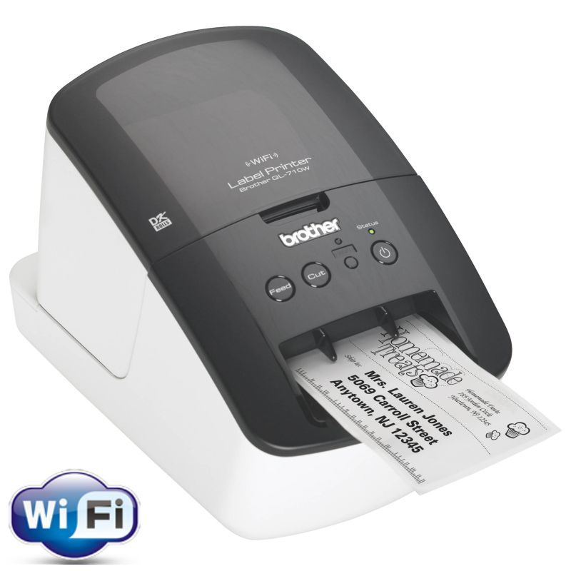 Brother QL-710W, Impresora etiquetas
