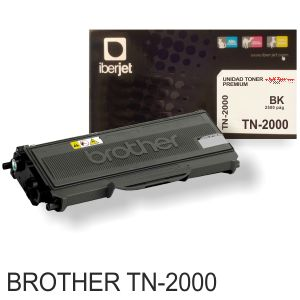 Brother TN2000 compatible, toner, 2500 paginas