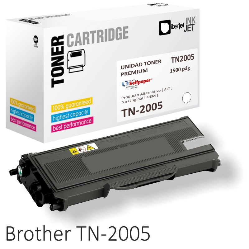 Comprar Brother TN2005 compatible toner economico