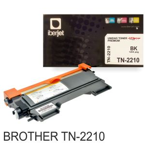 Brother TN2210 TN2210 toner compatible negro 1200 paginas
