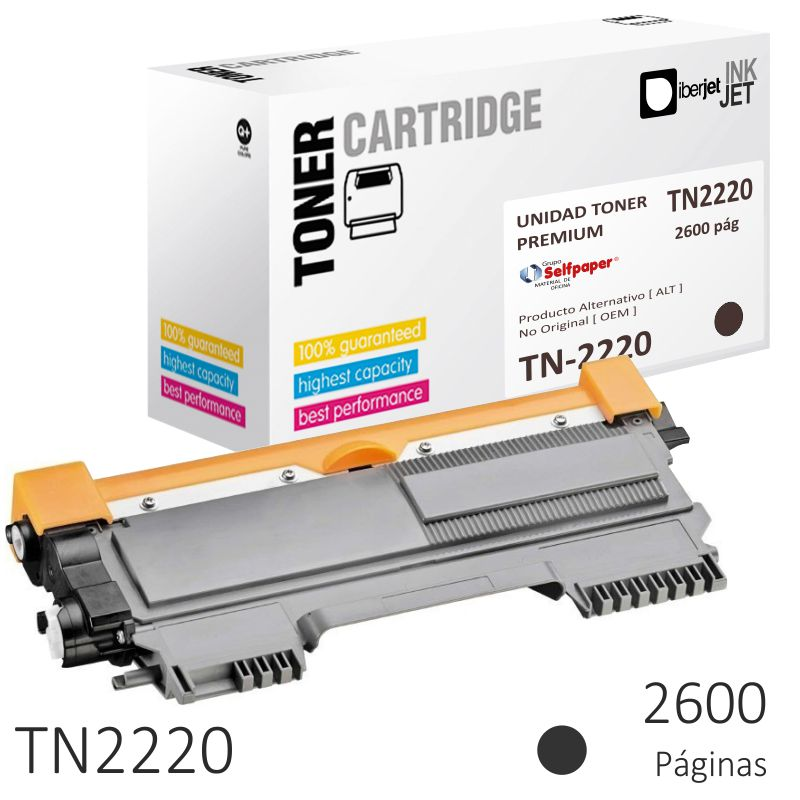 Comprar Brother TN2220, toner compatible HL-2240 DCP-7060 MFC-7360