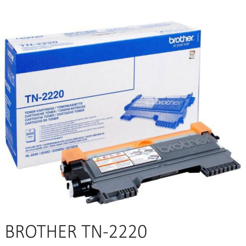 Comprar Brother TN2220,Toner alta capacidad 2600pág HL-2240 MFC-7360