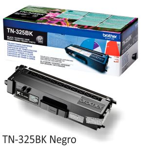 Brother TN325BK Negro Toner alta capacidad 4000 Pags