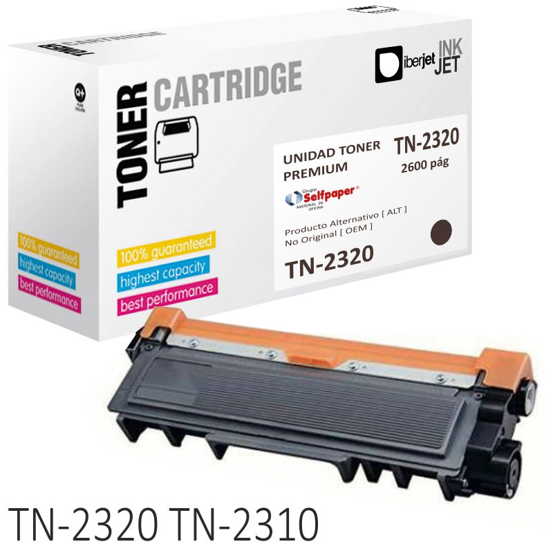 Comprar Brother TN2320 Toner compatible TN2310 alta capacidad