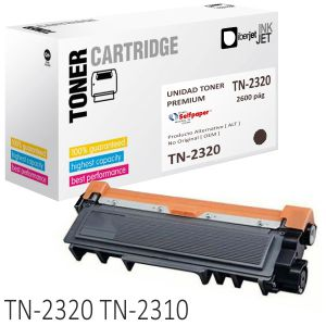Brother TN2320 Toner compatible TN2310 alta capacidad