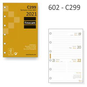 C299 - Recambio Agenda