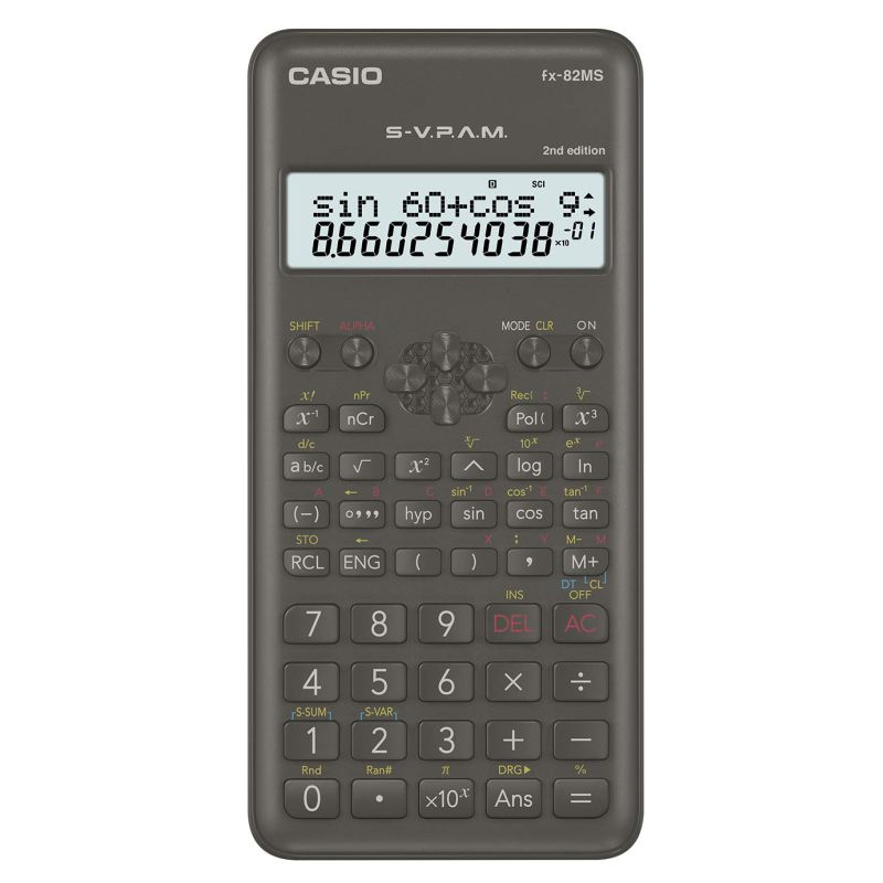 Casio FX-82MS 39206  4971850189046