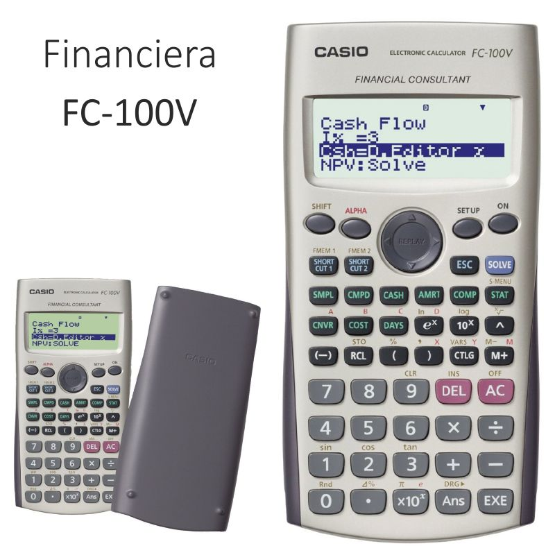 Comprar Calculadora Financiera Casio FC-100V