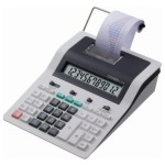 Calculadora impresora rollo papel