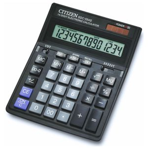 Calculadora sobremesa grande Citizen SDC-554S 14 digitos