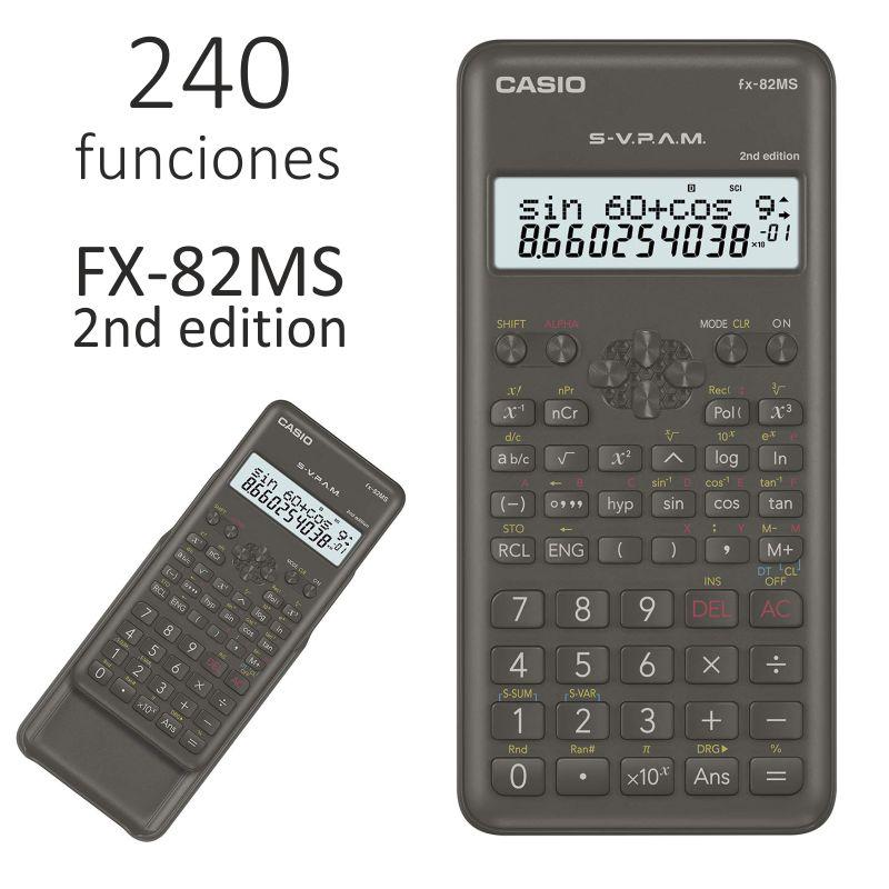 Calculadora casio fx 82ms cientifica economica for Calculadora ahorro