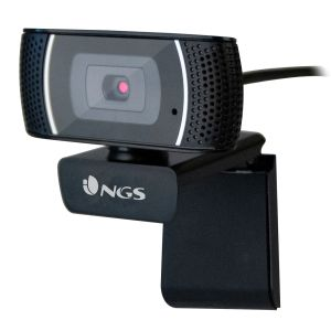 Camara Web, Webcam NGS XPressCam 1080 Full HD con micro