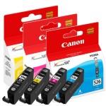 Canon CLI-526C Cyan CLI-526M