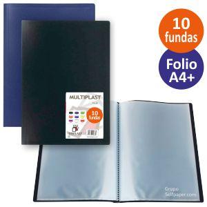 Carpeta 10 Fundas Folio