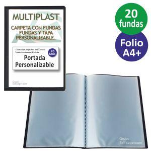 Carpeta 20 Fundas Folio