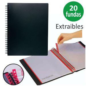 Carpeta 20 Fundas Extraibles