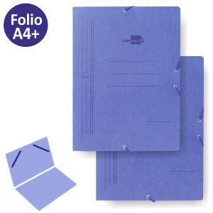 Carpeta Azul con gomas,