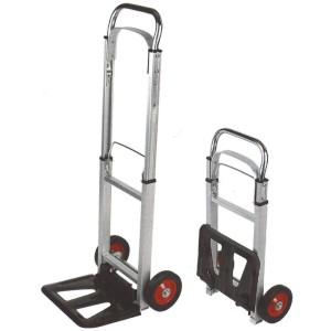 Carretilla plegable aluminio hasta 90 kg ligera qconnect - Carretilla plegable aluminio ...