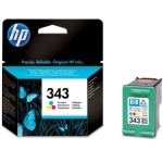 cartucho original hp nº 343 color 7 ml tinta impresora inkje