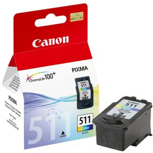 Cartucho Canon CL-511 CL511 Tinta Color Pixma MP 240 250