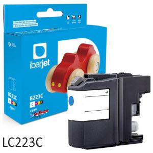 Cartucho Compatible Brother LC223C