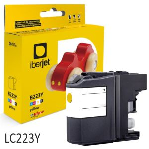 Cartucho tinta compatible Brother LC223Y LC225XLY Amarillo